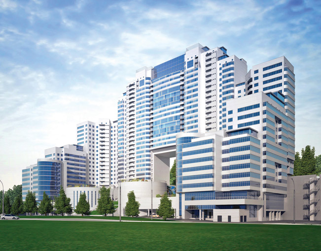 Деловой центр за $1 млрд для Новосибирска