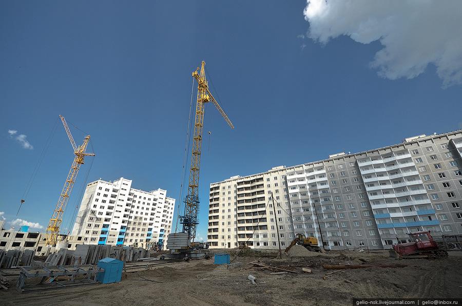 долгострои Новосибирска
